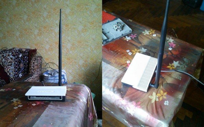 маленькую антенну для старенькой WI-FI точки