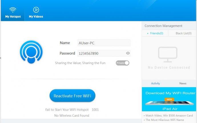 My WIFI Router - скачать бесплатно | My WIFI Router 3.0.0 - freeSOFT