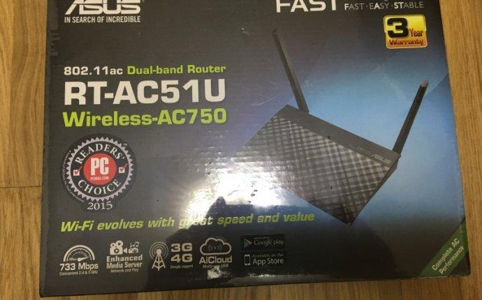 WiFi роутер (маршрутизатор) ASUS RT-AC51U 802.11ac/2.4-5 GHz/4xLAN