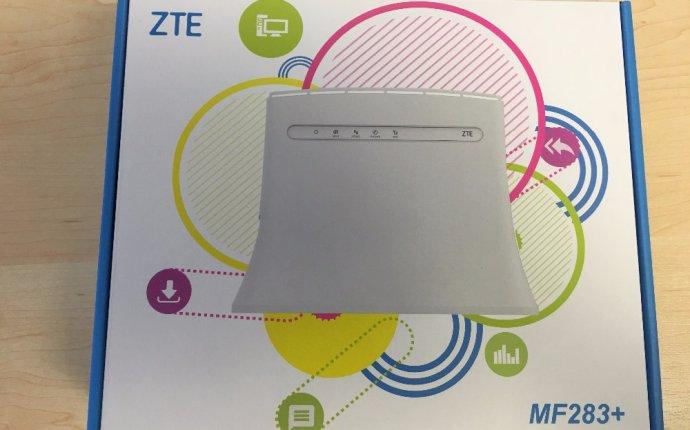 ZTE MF283 LTE/HSPA + маршрутизатор ЛОКАЛЬНОЙ СЕТИ Wi-Fi
